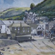 Port Isaac by Peter Hepburn