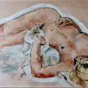 Reclining figure by Madeleine Fletcher