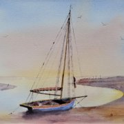 Evening Calm, Maldon by Michael York