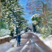 Winter Walk by Jennifer Collyer