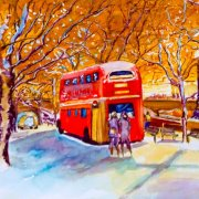 London Snow by Dinah Kane
