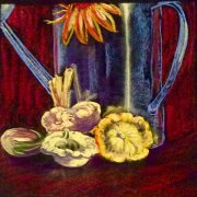 Still Life with Patty Pans by Dinah Kane